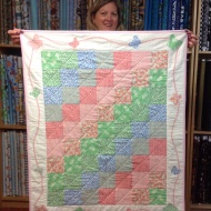 Tracey's terrific baby quilt