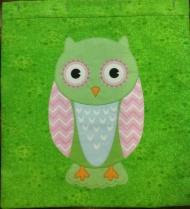 Elaine's excellent owl cushion