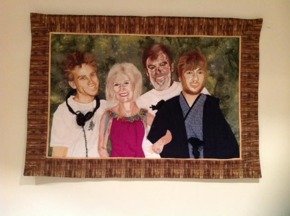 Family Portrait for my sister's 50th