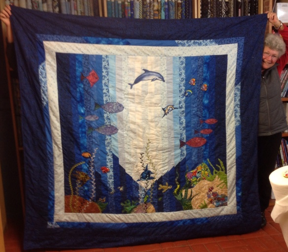 Margaret's original under the sea project is a winner