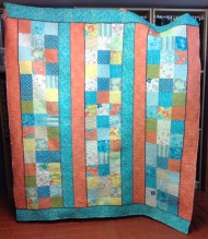 Lynette shows how turquoise and coral can live together - beautifully