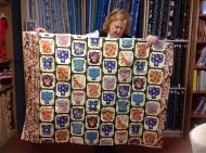 Lynette's kimono quilt