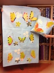 Lynette's building butterflies
