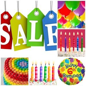 PicMonkey Collage birthday sale
