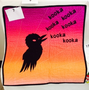 "Bec said that ""even at dawn the laugh of the kookaburra is music to my soul"""