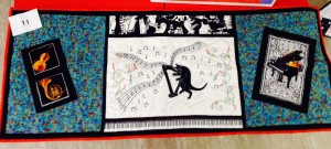 Margaret's musical table runner
