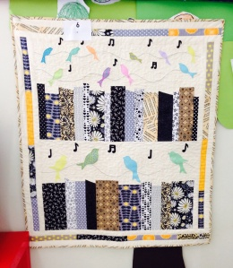 Chris' bird song quilt