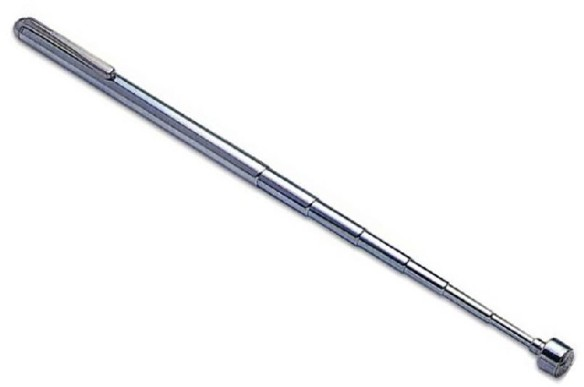 telescopic magnetci retrieval pen