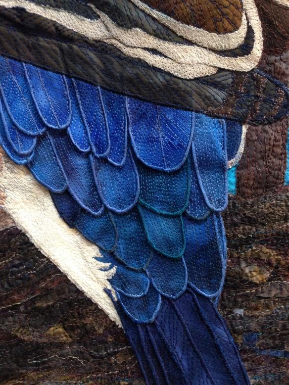 Close up of 'True Blue Jacko', Jeannie Henry