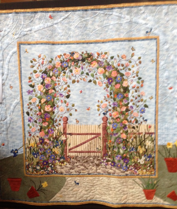 'Through the Garden Gate', Rose Lewis