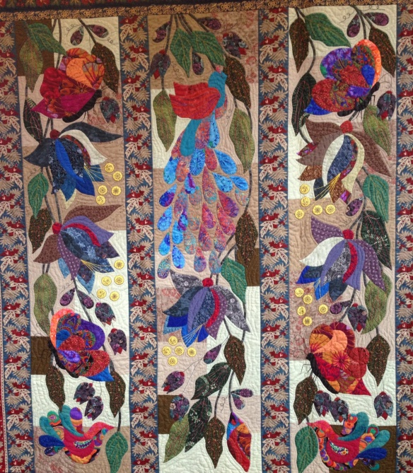 Quilted Wallpaper, Robyn Ginn