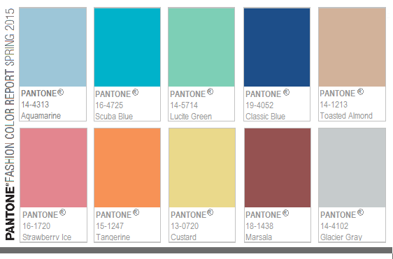 pantone-fashion-color-report-spring-2015 The Top 5 Quilting Trends