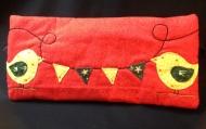 Margaret's appliqué club project pencil case