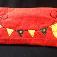 Margaret's appliqué club project pencil case