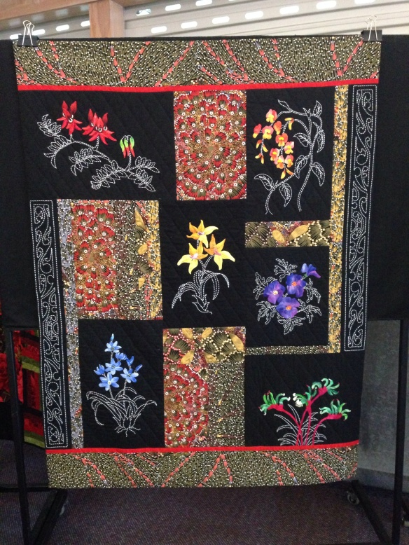 image26 Massed Flowers and Quilts