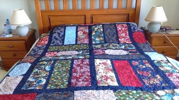 Robyns uganda quilt