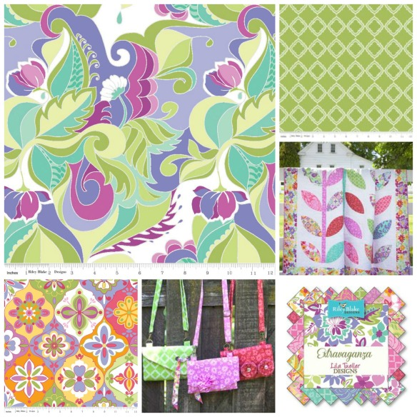 extravaganza-collage 5 fabric ranges you won't want to miss