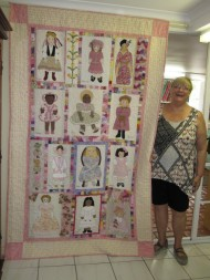 Janes dolly quilt