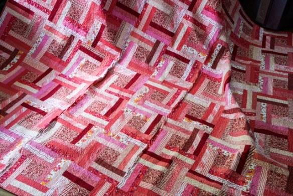 lynettes quilt for a wedding pressie