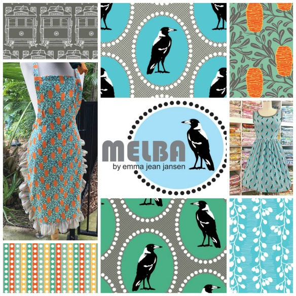 Melba collage