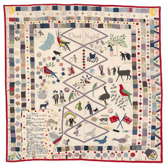 quilt-mary-jane-hannaford Travel, Shows and Celebrations